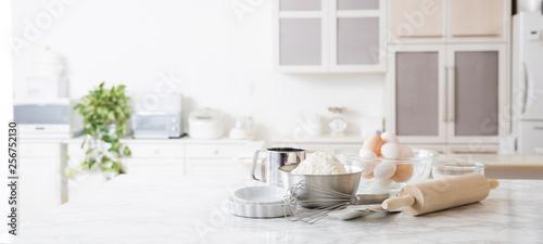 Fotografía  キッチンの背景、製菓、製パン