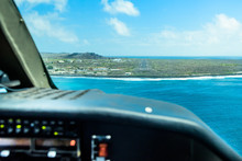 Aterrizaje En Isla San Cristobal