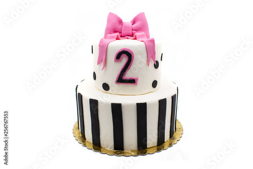 Surprising Birthday Cake With Burning Candle Number 2 Two Two Year Old Funny Birthday Cards Online Hetedamsfinfo