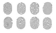 Security Access Human Fingerprint Authorization System Electronic Signature