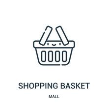Shopping Basket Icon Vector Fr...