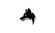 Head Wolf Logo Vector