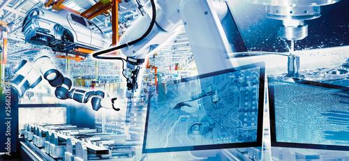 Pinturas sobre lienzo  Industrie und Digitalisierung