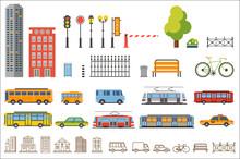 Vector City Constructor Design...