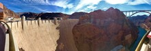 Panorama At The Hoover Dam Vis...