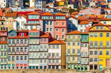 Old Historical Houses Of Porto...