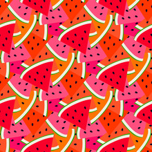 Summer Fruit Pattern With Swee...