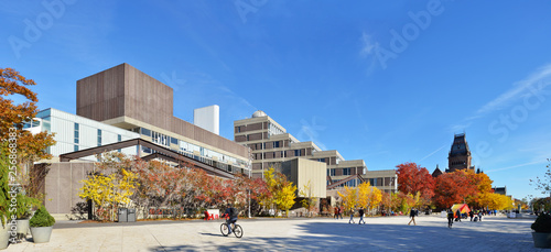 Foto Harvard Science Center and Plaza In The Fall