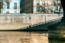 Parisian Bridge And Building S...