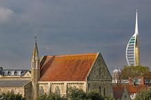 Royal Garrison Church, Portsmouth, In Stormy Weather
