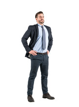 Confident Businessman Full Len...