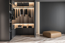Modern Wooden Wardrobe With Cl...