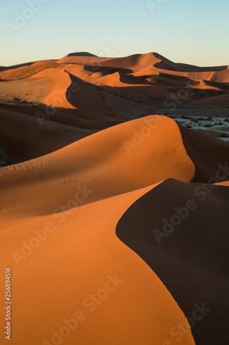 Poster de jardin Desert de sable Sand dune abstract taken in Sossusvlei, Namibia