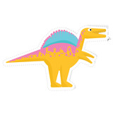 Fototapeta Dinusie - dinosaur vector sticker