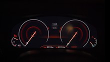 Dashboard On BMW 3