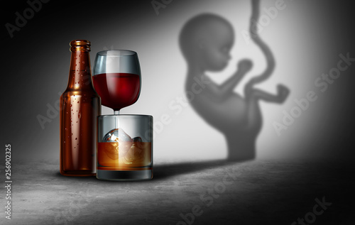 Alcohol And Pregnancy Tapéta, Fotótapéta