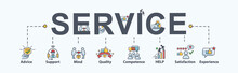 Service Banner Web Icon For Bu...