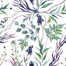 Watercolor Botanical Greneery ...