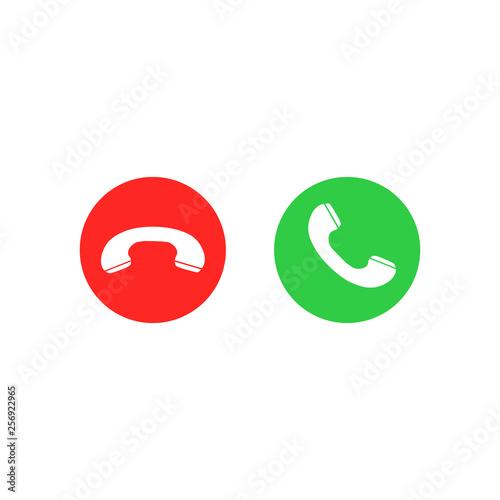 Fotografía  Phone call icons