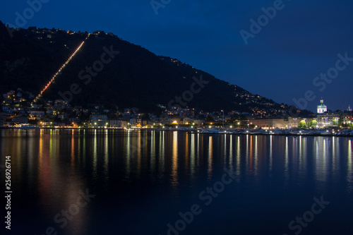 Fotobehang Noord Europa Como Lake