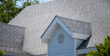 Garret House And Roof Shingles...