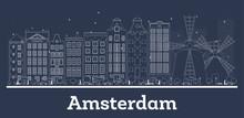 Outline Amsterdam Holland Repu...