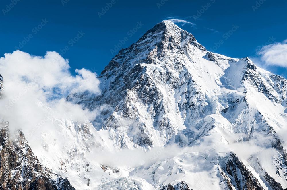 Fototapety, obrazy: K2 the world second highest peak