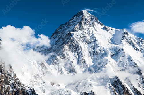 K2 the world second highest peak