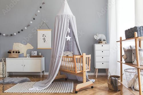 Photo Newborn baby room interior