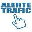 Logo alerte trafic.
