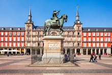 Plaza Mayor Is A Central Plaza...