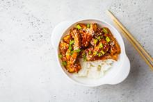 Teriyaki Chicken With Rice, Se...