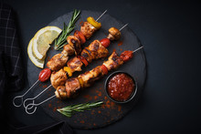 Shish Kebab With Mushrooms, Ch...