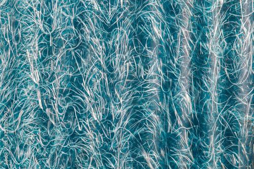 abstraction of blue textolite slate, fiberglass background Wallpaper Mural