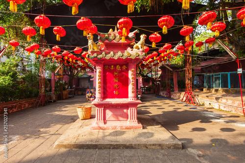 Jade Emperor Pagoda Taoist Temple Billede på lærred
