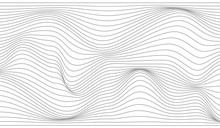 Warped Gray Lines.Wavy Gray Lines.Overlay Lines.