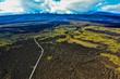 Luftbildaufnahmen von Hawaii - Lava, Strände und mehr von Big Island aus der Luft