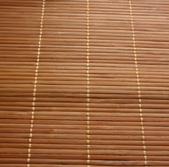 bambus Mata brązowa tło