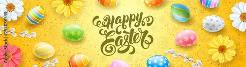 Fototapeta Happy Easter Banner obraz