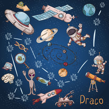 Space Constellation With The N...