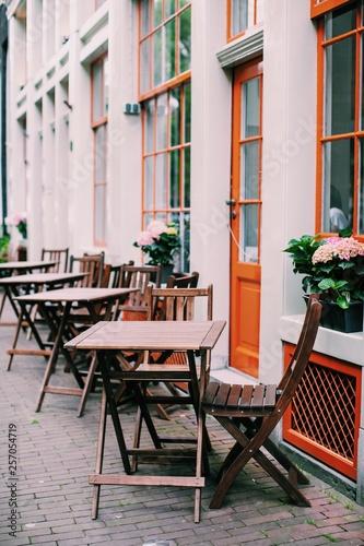 Photo  Amsterdam cafe