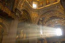 Ray Of Light Through A Church ...