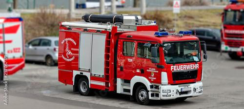 vehicle of volunteer firefighters association