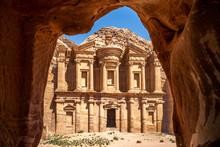 Ad Deir (The Monastery) At Petra, Jodan