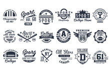 Sport Club Logo Design Set, Ba...