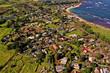 Oahu Hawaii - Strände, Landschaften und Meer auf Hawaii aus der Luft. Drohnenaufnahmen von ganz Hawaii