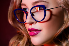 Glasses And Beauty