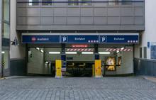Entrance Of A Car Park