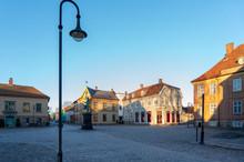 Gamle Fredrikstad Marked Square, Stare Miasto, Old City, Gamlebyen , Kongsten Fort Norge Norway Norwegia