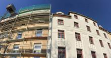 Alt-Neu Gründerzeit Altbau Wohnhaus Fassaden Vor Und Nach Der Sanierung